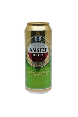 AMSTEL BEER 0.5L CAN