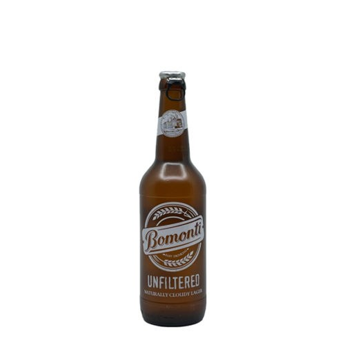 BOMONTI UNFILTERED BEER 0.5L BOT
