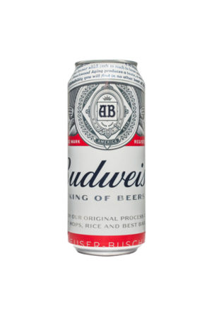 BUDWEISER BEER 0.5L CAN