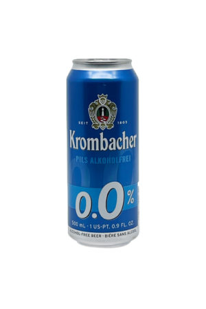 KROMBACHER PILS ALCOHOL FREE BEER 0.5 CAN