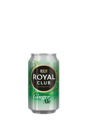 ROYAL CLUB GINGER ALE 33CL CAN