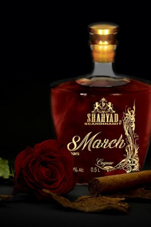 SHAHYAD 8 MARCH COGNAC 50CL