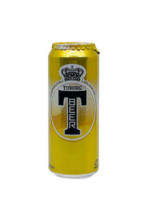TUBORG T-BEER 500ML CAN