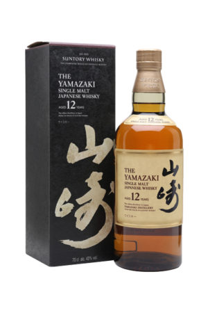 YAMAZAKI SINGLE MALT JAPANESE WHISKEY 12YO 70CL